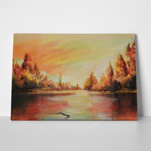 Art painting autumn river 538006681 a