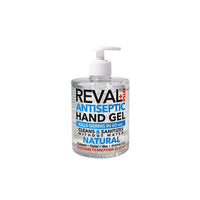 REVAL PLUS ANTISEPTIC HAND GEL NATURAL 500ML