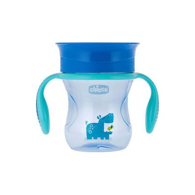 Chicco perfect cup 12m  blue 200ml