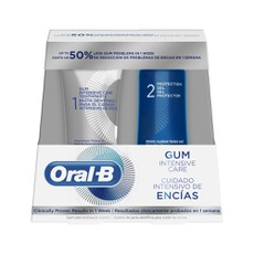 Oral-B PROMO PACK Step1 Gum Intensive Care Οδοντόκρεμα 85ml & Step2 Protection Gel 63ml.