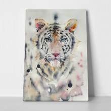 White tiger watercolor 1049306840 a