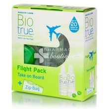 Bio True Flight Pack -  2 x 60ml + Zip Bag