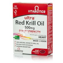 Vitabiotics ULTRA KRILL OIL - 100% καθαρό λάδι κριλ, 30caps