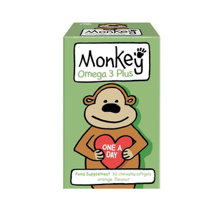 Monkey omega 3 plus 30tabs