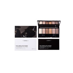 Korres Volcanic Minerals Eyeshadow Palette The Absolute Nudes Παλέτα Σκιών 6 Αποχρώσεων Με Σατινέ & Ιριδίζον Αποτέλεσμα 6g