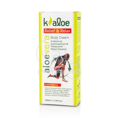 KALOE - RELIEF & RELAX Body Cream - 100ml