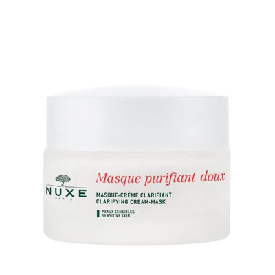 (STOP)Nuxe - Gentle Purifying And Clarifying Mask With 3 Roses Μάσκα Καθαρισμού Προσ.-Λαιμού,Όλους τους Τύπους - 50ml