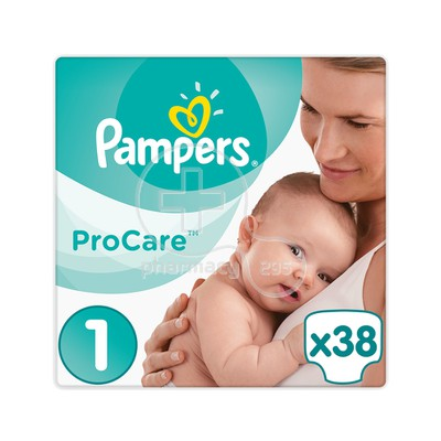 PAMPERS - PROCARE Premium Protection No1 (2-5kg) - 38 πάνες