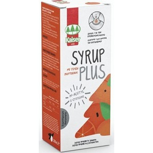 Kaiser syrup plus orange flavor 200ml