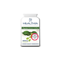 HEALTHIA SUPERIOR GREEN COFFEE 8000MG 60CAPS