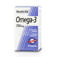 HEALTH AID - Omega-3 750mg - 30caps