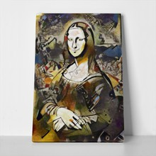 Alternative painting leonardo mona lisa cubism 559380922 a