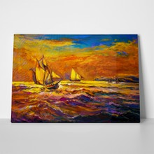 Original oil painting on canvas sailing 292874810 a