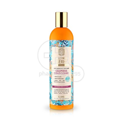 NATURA SIBERICA - OBLEPIKHA Hair Conditioner Deep Cleansing and Care για Κανονικά & Λιπαρά Μαλλιά - 400ml