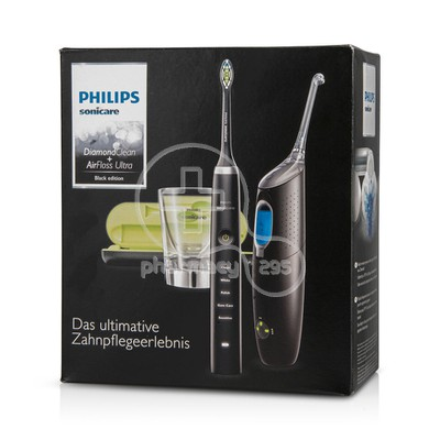 PHILIPS SONICARE - Diamond Clean & Airfloss Ultra Black Edition HX8491/03