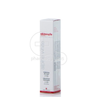 SKINCODE- ALPINE WHITE Brightning Day Cream SPF15 - 50ml