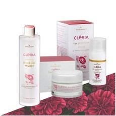 Pharmasept Cleria Eye Perfection Cream 15ml + Cleria Refreshing Micellar Water 300ml + Cleria First Step Cream 50ml.