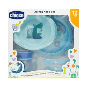 Chicco meal set  blue