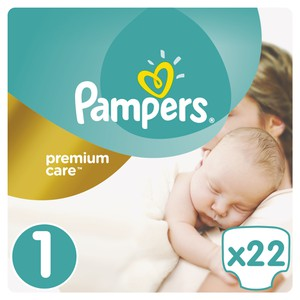Pampers premium care size 1  22s 04015400687696 81611053