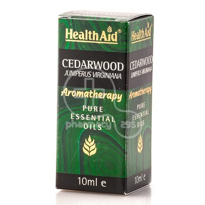 HEALTH AID - AROMATHERAPY Pure Essential Oil Cedarwood - 10ml
