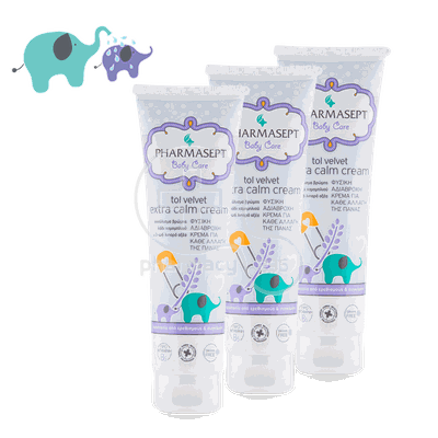 PHARMASEPT - PROMO PACK 3 ΤΕΜΑΧΙΑ BABY CARE TOL VELVET Extra Calm Cream - 150ml