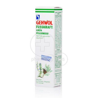 GEHWOL - FUSSKRAFT Grun - 125ml