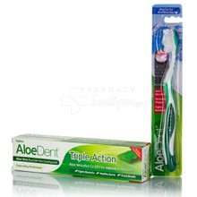 Optima Aloe Dent TRIPLE ACTION - Τριπλή Δράση, 100ml