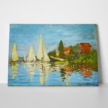 Monet regatta at argentuil a