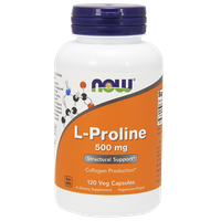 NOW L-PROLINE 500 MG - 120 VCAPS