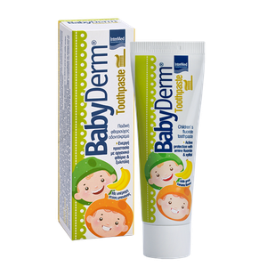 Intermed babyderm toothpaste banana