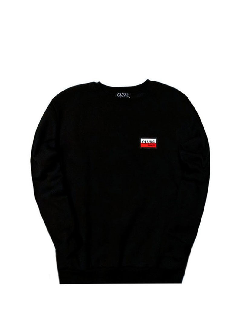CLVSE SOCIETY SWEATSHIRT BLOCK COLOR PATCH