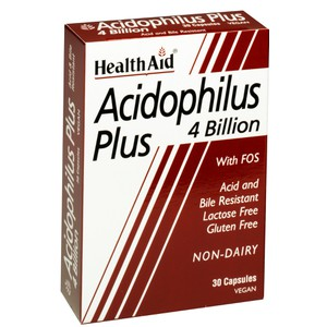 HEALTH AID Acidophilus plus 4 billion 30caps