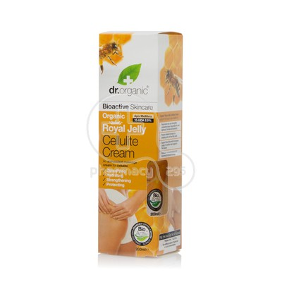 DR. ORGANIC - ROYAL JELLY Cellulite Cream - 200ml