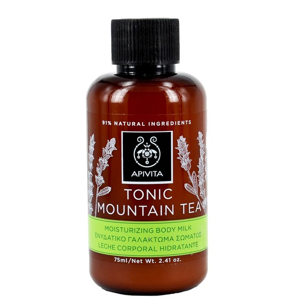 APIVITA BODY MILK TONIC MOUNTAIN TEA MINI 75ML