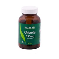 HEALTH AID CHLORELLA POWDER 550MG 60TABS