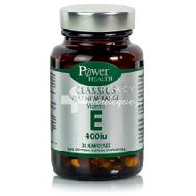 Power Health Platinum Vitamin E 400IU - Αναπαραγωγή & Δέρμα, 30caps