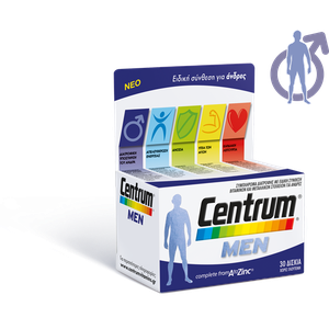 CENTRUM Men A-Zinc 30tabs