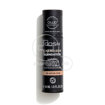 GOSH - CHAMELEON Foundation No006 Medium Dark - 30ml