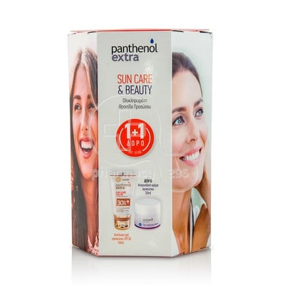 PANTHENOL - PROMO PACK PANTHENOL EXTRA SUN CARE Color SPF30 (50ml) ΜΕ ΔΩΡΟ  Face and Eye Cream (50ml)