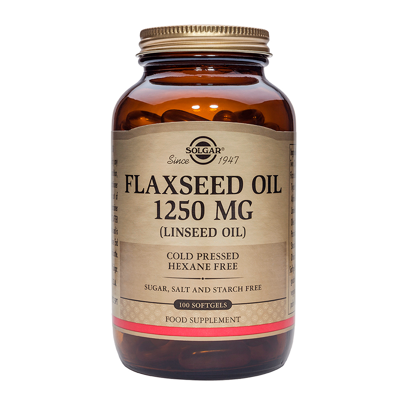 Flaxseed Oil 1250mg softgels