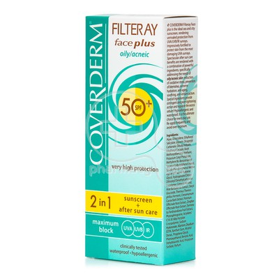 COVERDERM - FILTERAY Face Plus Oily/Acneic SPF50+ - 50ml