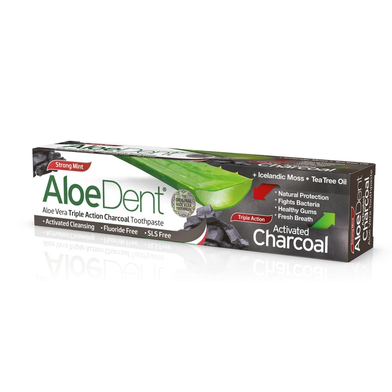 Aloe Dent Triple Action Charcoal