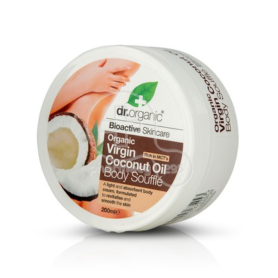 DR. ORGANIC - COCONUT OIL Body Souffle - 200ml