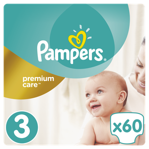 Pampers premium care no 3 60s 04015400274780 81611060