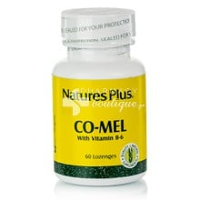 Natures Plus CO-MEL with Vitamin B6 - Αϋπία / Jet Lag, 60 lozenges