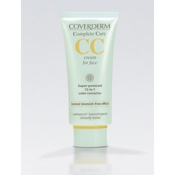 Coverderm CC Cream for Face SPF25 σε 2 αποχρώσεις 40ml