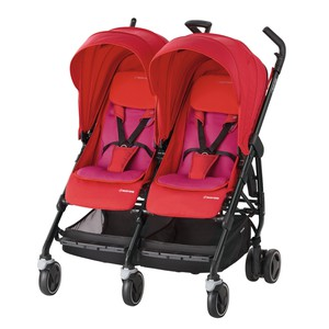 Καρότσι Maxi Cosi DANA FOR 2 Red Orchid