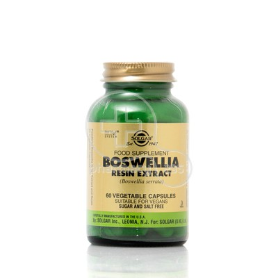 SOLGAR - Boswellia Resin Extract - 60caps