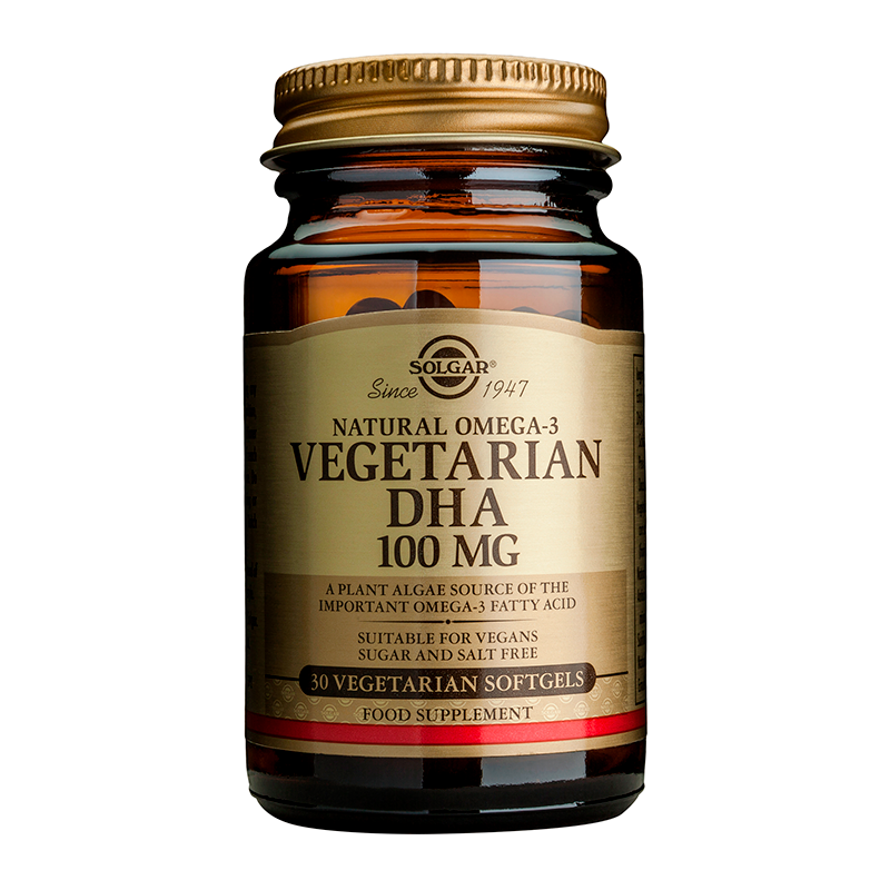 Vegetarian DHA 100mg softgels
