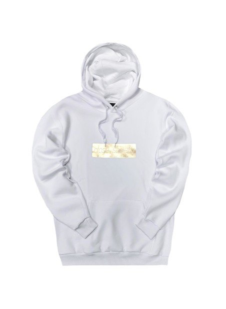 CLVSE SOCIETY WHITE WITH GOLD LOGO